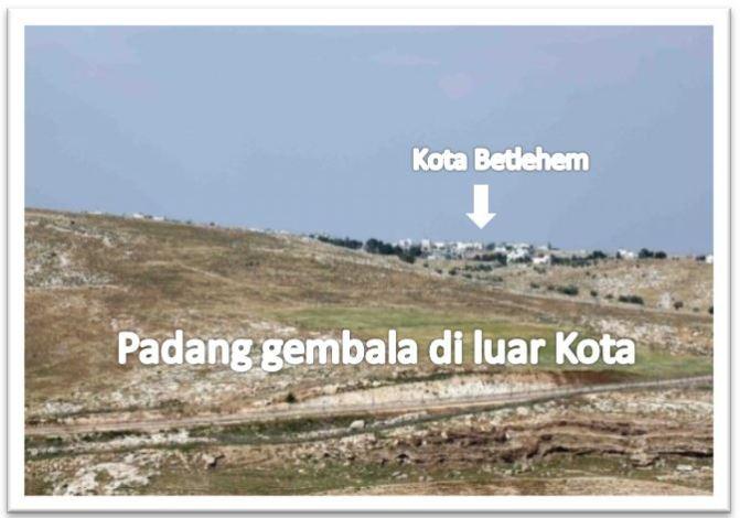 Sebab gembala berada di padang Betlehem pada bulan Desember